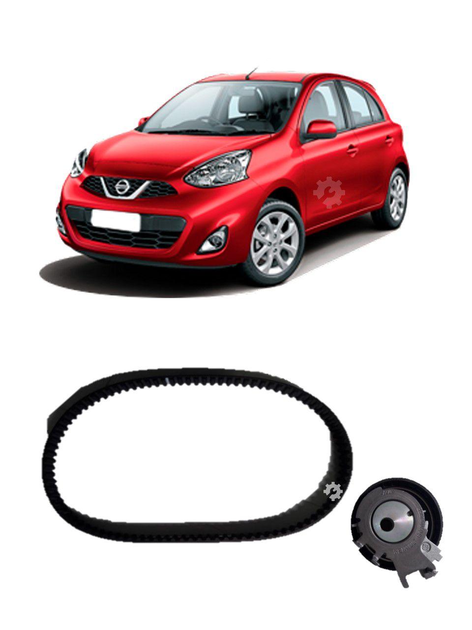 Kit Correia Dentada + Tensor Nissan March 1.0 16v Original