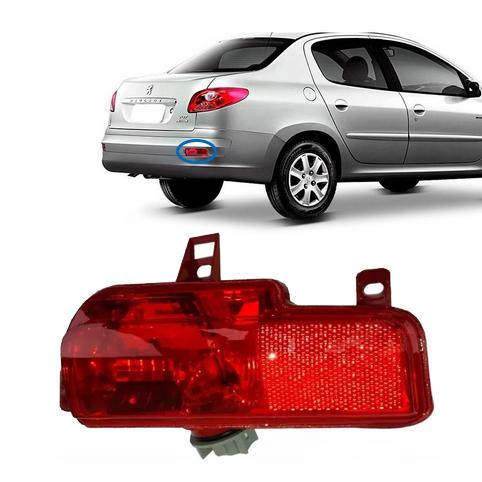 Lanterna Luz Neblina Traseira Direita Peugeot 207 Sedan Original