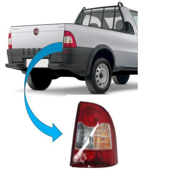 Lanterna Traseira Direita Fiat Strada 2008 2020 Original