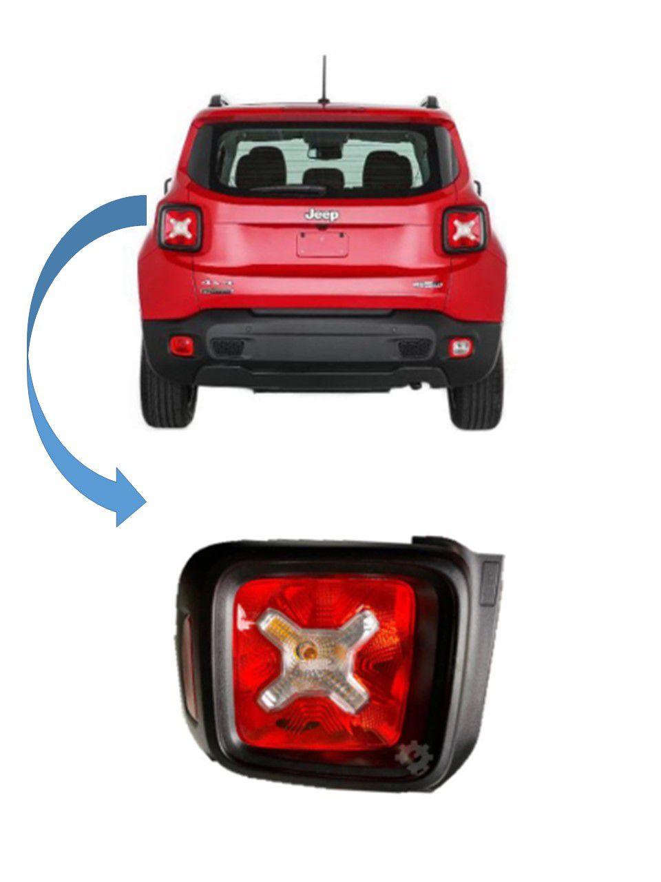 Lanterna Traseira Esquerda Jeep Renegade 2016 2020 Original