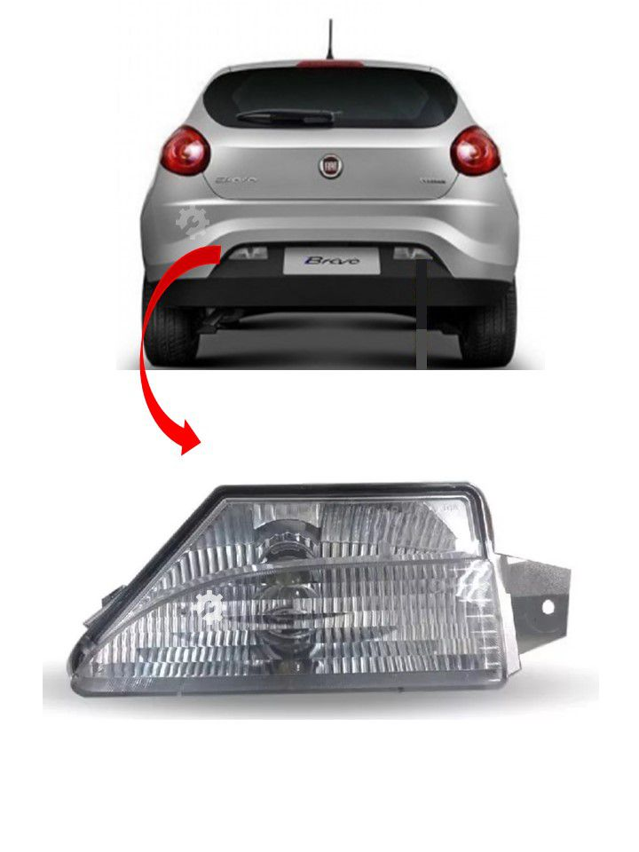 Lanterna Traseira Ré Lado Esquerdo Fiat Bravo Punto Original