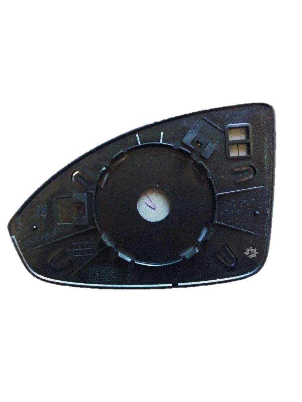 Lente base Retrovisor Esquerdo Chevrolet Cruze 2011 14 2016