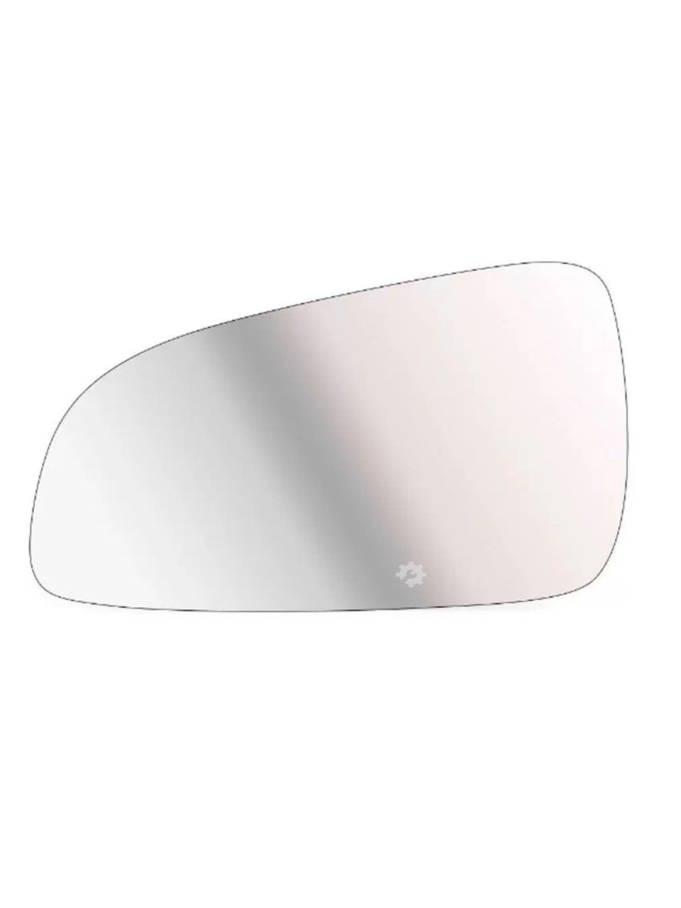 Lente base Retrovisor Esquerdo Chevrolet Vectra 2006 08 2009