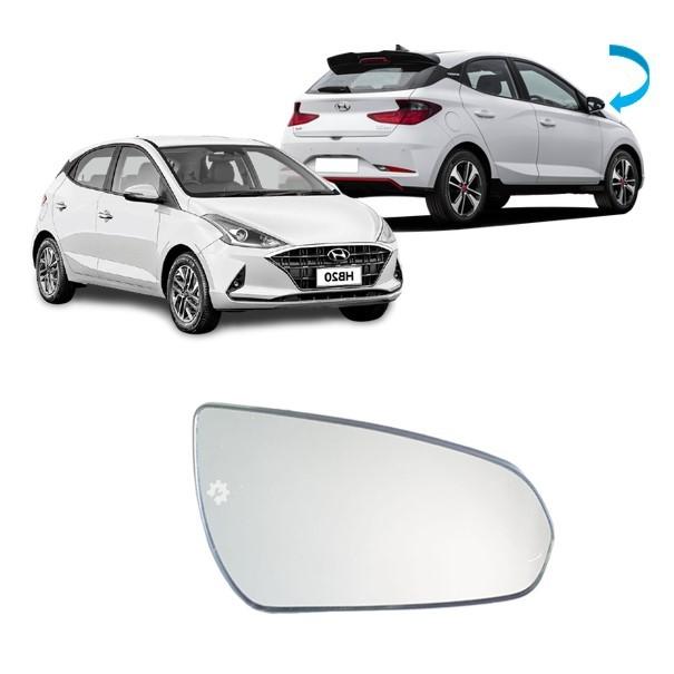 Lente Vidro base Retrovisor Direito Hyundai HB20 2020