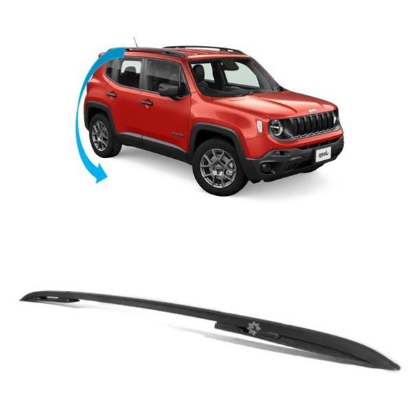 Longarina Teto Preta Direita Jeep Renegade 2015 2020 Original