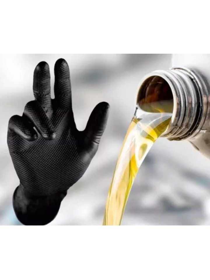 Luva Mecânica Super Glove Black Tamanho G impermeável Jahu