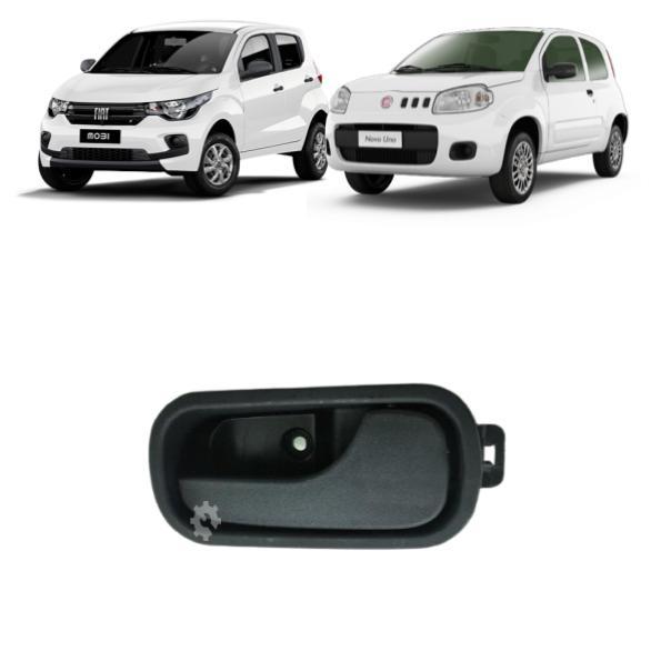 Maçaneta Porta Interna Esquerda Fiat Mobi Uno 2011 2020