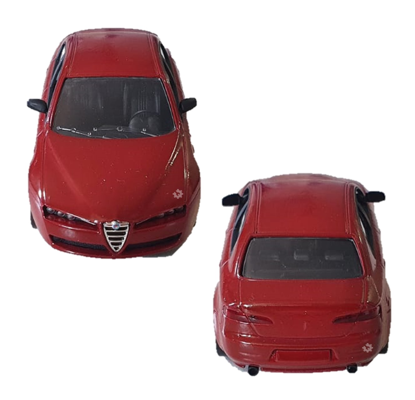 Miniatura Oficial Fiat Alfa Romeo 159 Colecionador Original