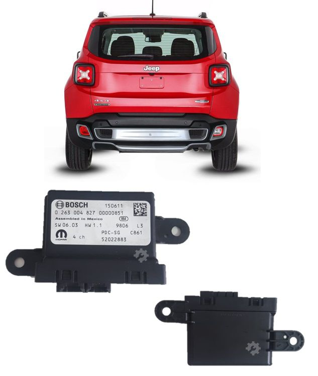 Modulo Estacionamento Jeep Renegade 2015 2018 2019 Original