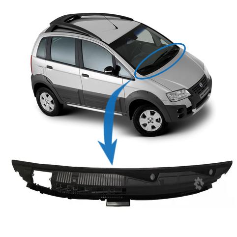 Moldura Acabamento Churrasqueira Fiat Idea 2006 2010 2016