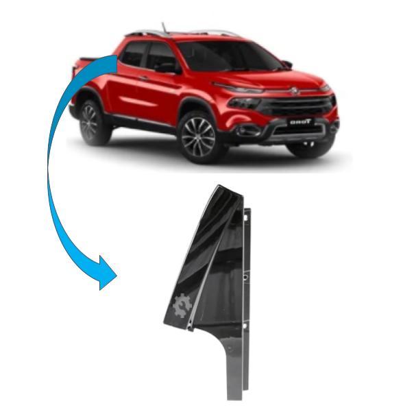 Moldura Acabamento Porta Fiat Toro 2016 2021 Original