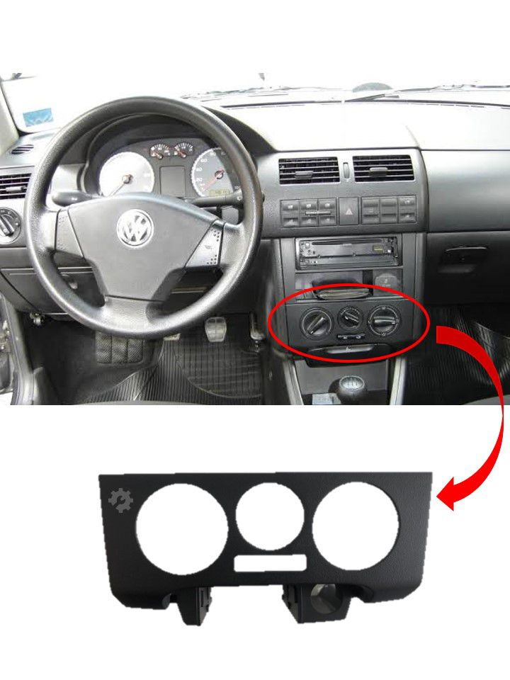 Moldura Comando Ar S/ Cinzeiro Volkswagen Gol G3 1994 2005