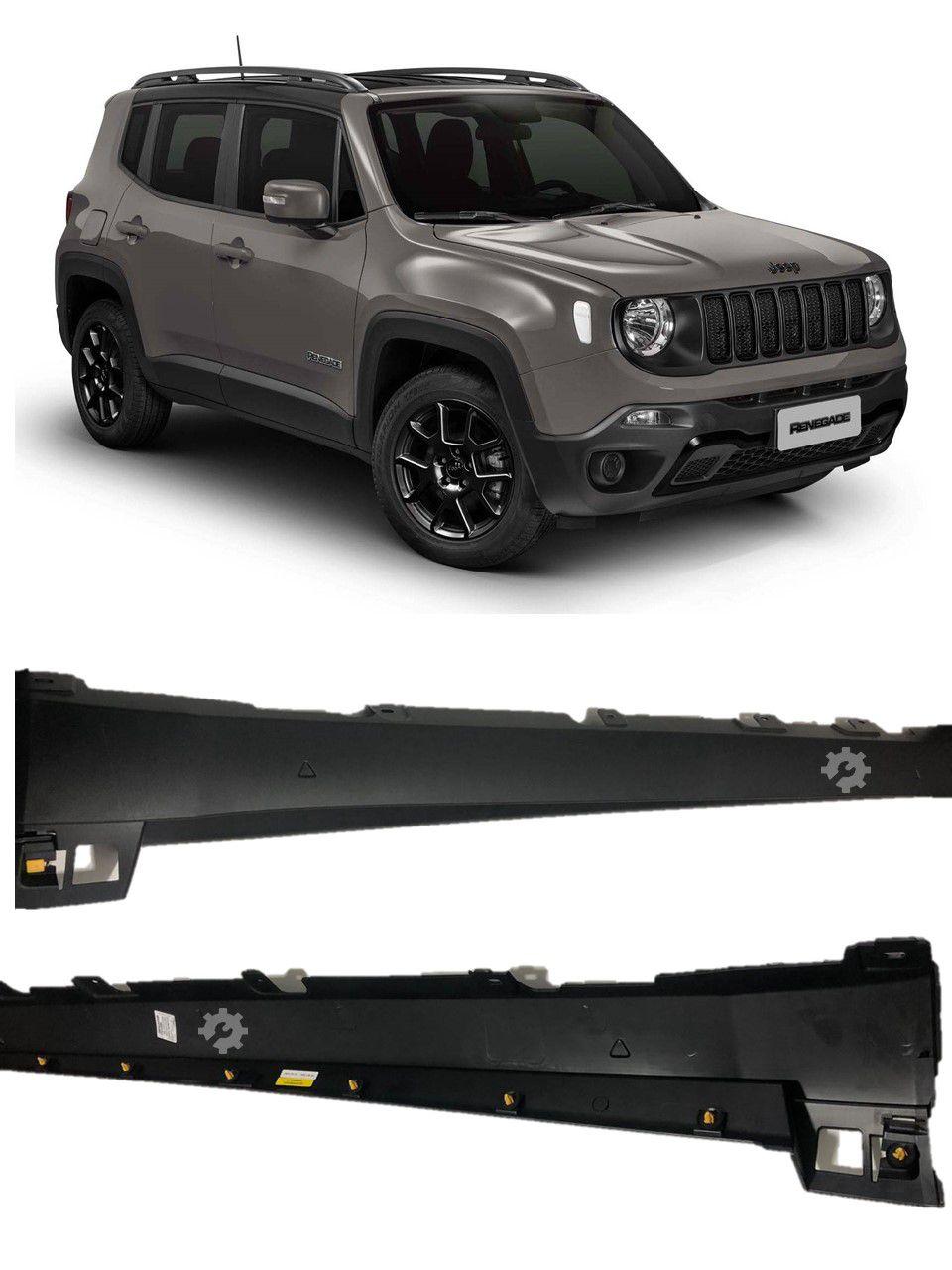 Moldura Lateral Externa Direita Jeep Renegade 2015 2018 2019 Original