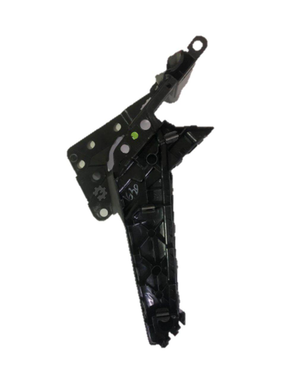 Moldura Puxador Porta Traseira Esquerda Novo Polo 2019