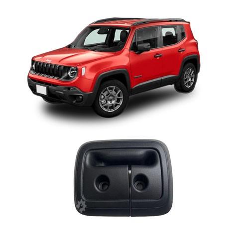 Moldura Tampa Banco Traseiro Jeep Renegade 2015 2019 Original