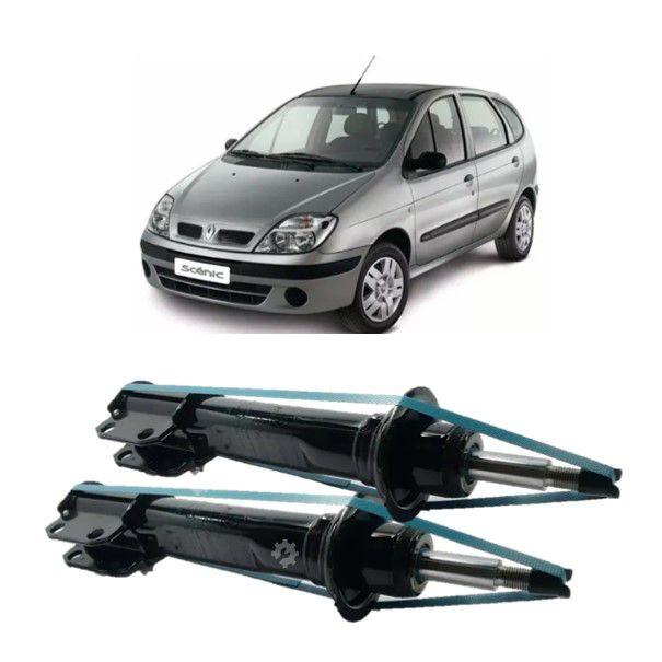 Par Amortecedor Dianteiro Renault Scenic 1999  2010 Original