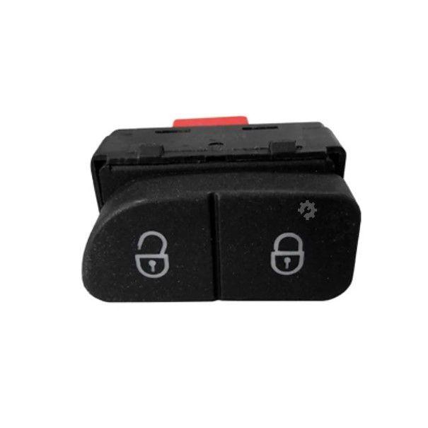 Par Botão Vidro Elétrico Duplo e Trava Gol Fox Polo G5 G6 G7