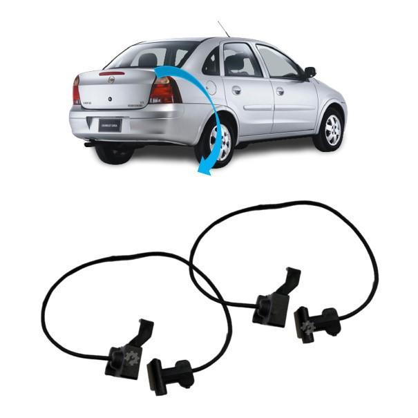 Par Corda Tampão Bagagito Traseiro Chevrolet Corsa
