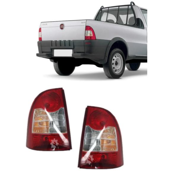 Par Lanterna Traseira Fiat Strada 2008 2020 Original