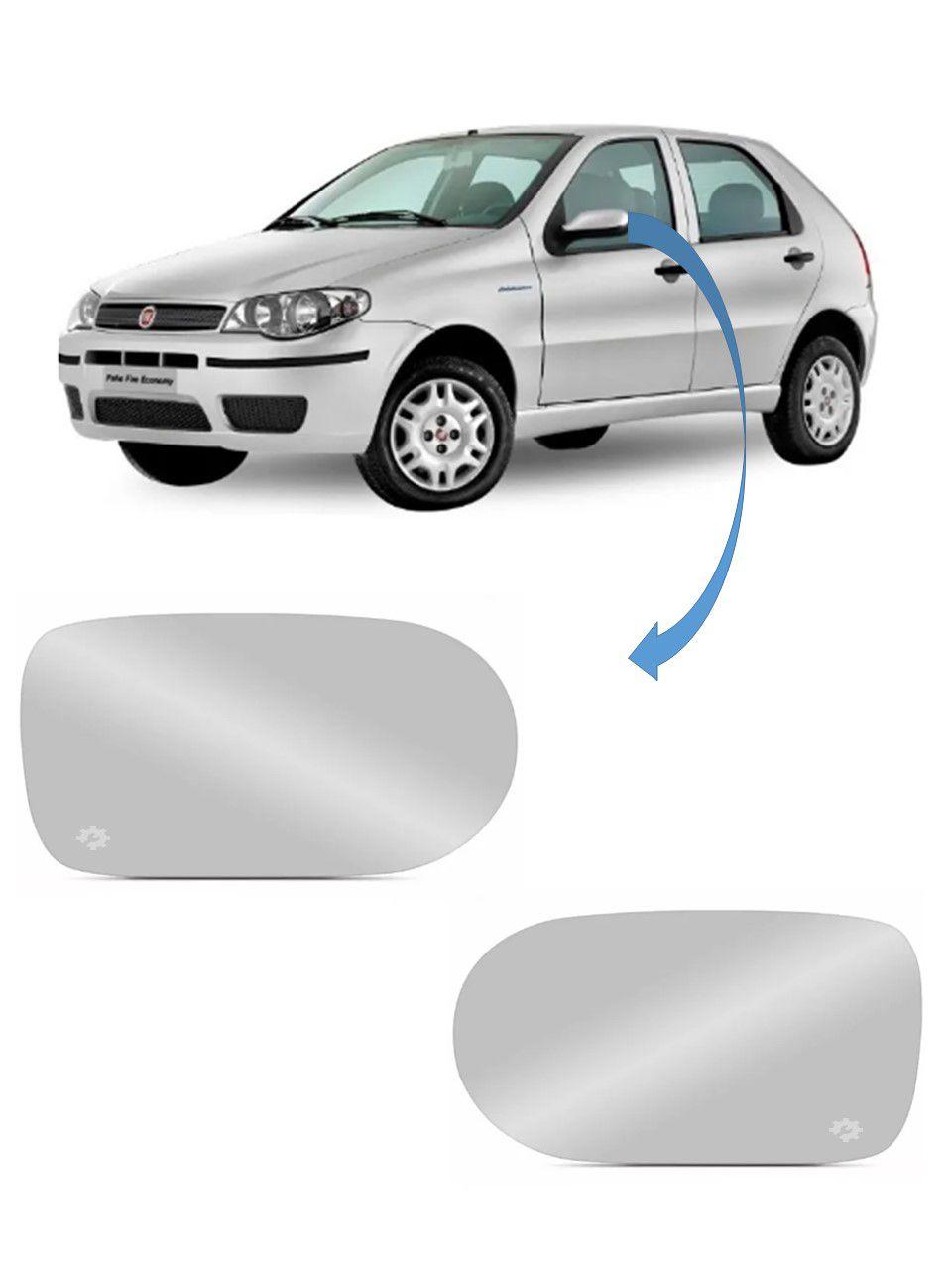 Par Lente base Retrovisor Fiat Palio Atractive G3 2011 2012