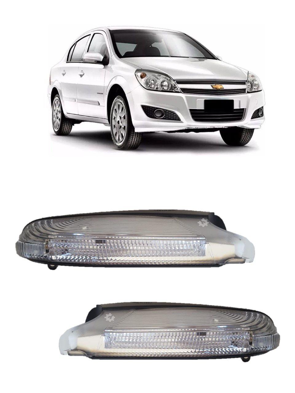 Par Pisca Retrovisor Chevrolet Vectra 2006 2008 09 2011