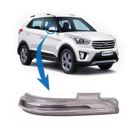 Par Pisca Retrovisor Hyundai Creta 2017 2018