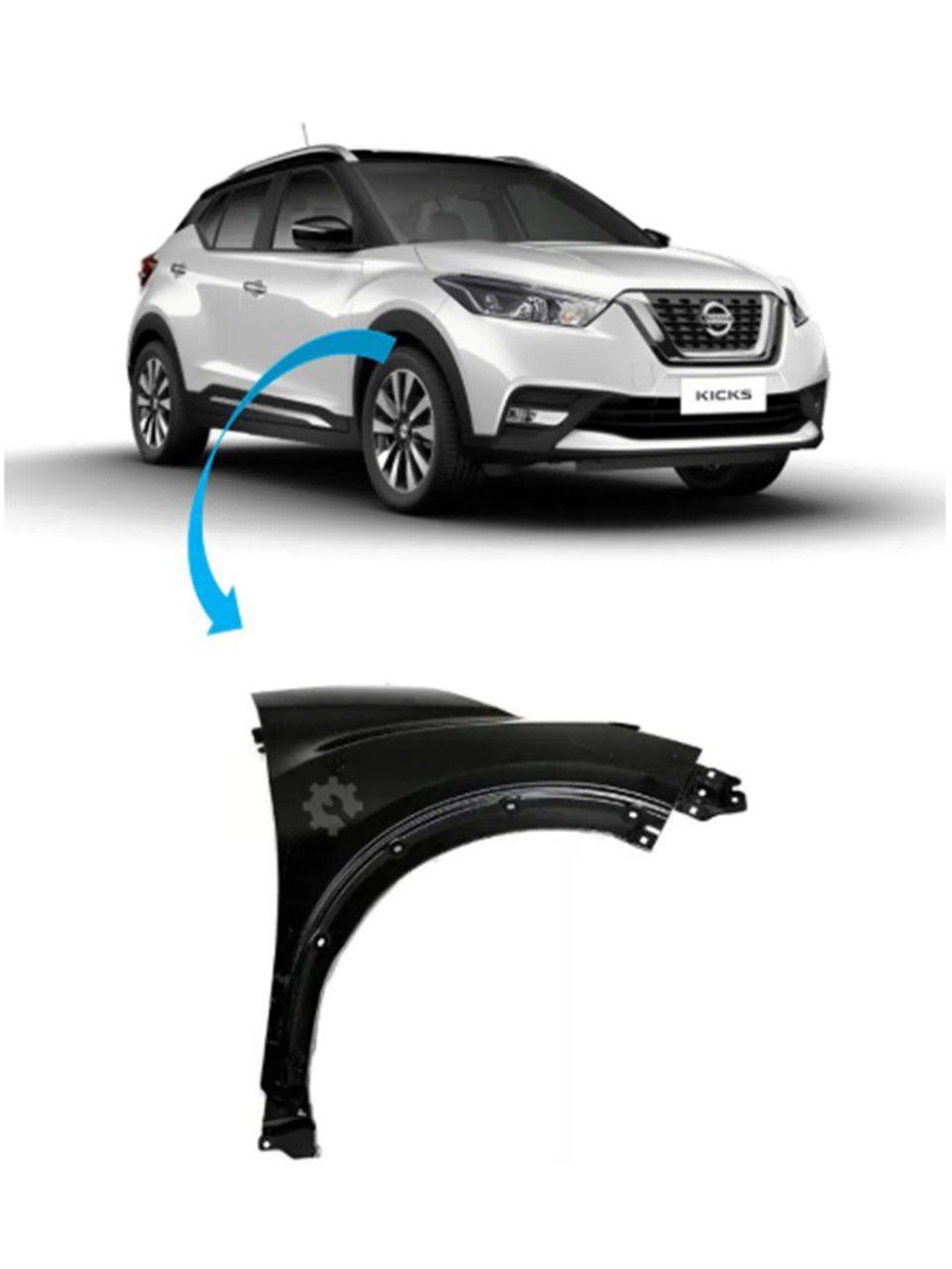 Para-lama Dianteiro Direito Nissan Kicks 2017 2019 Original