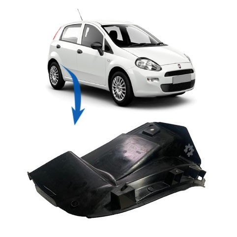 Parabarro Traseiro Direito Fiat Punto 2008 2009 2010 2012