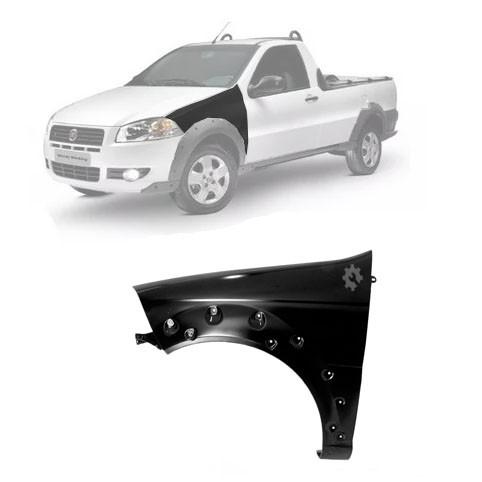 Paralama Dianteiro Esquerdo Fiat Strada  2008 2012 2013 2019