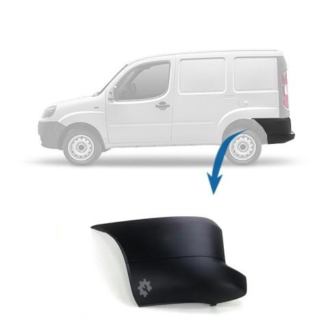 Ponteira Parachoque Traseiro Esquerdo Fiat Doblo 2010 2019