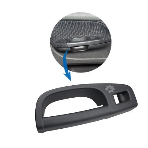 Puxador Porta Traseira Esquerda Furo Vidro Eletrico Gol G5