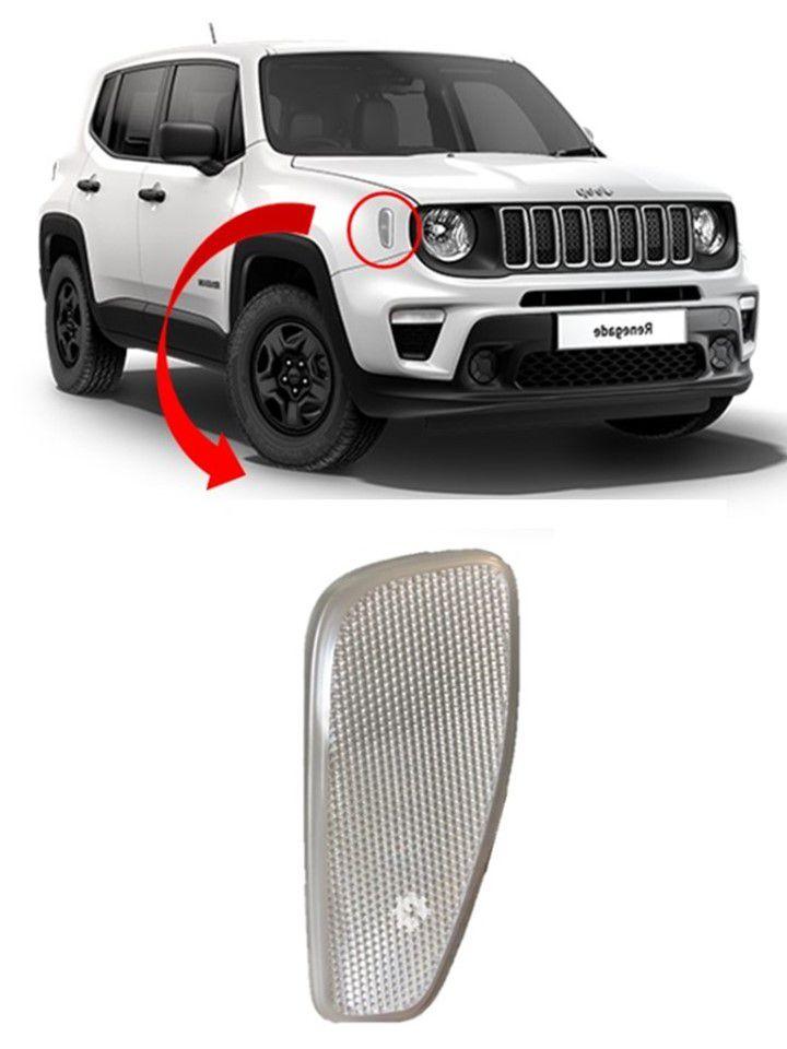 Refletor Dianteiro Direito Jeep Renegade 2017 2018 2019 Original