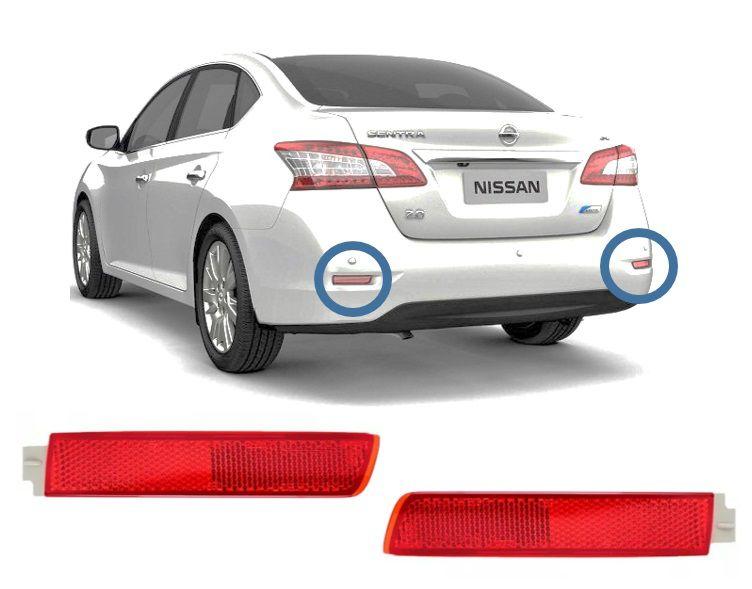 Refletor Traseiro Direito Esquerdo Nissan Sentra 2012 Á 2016 Original