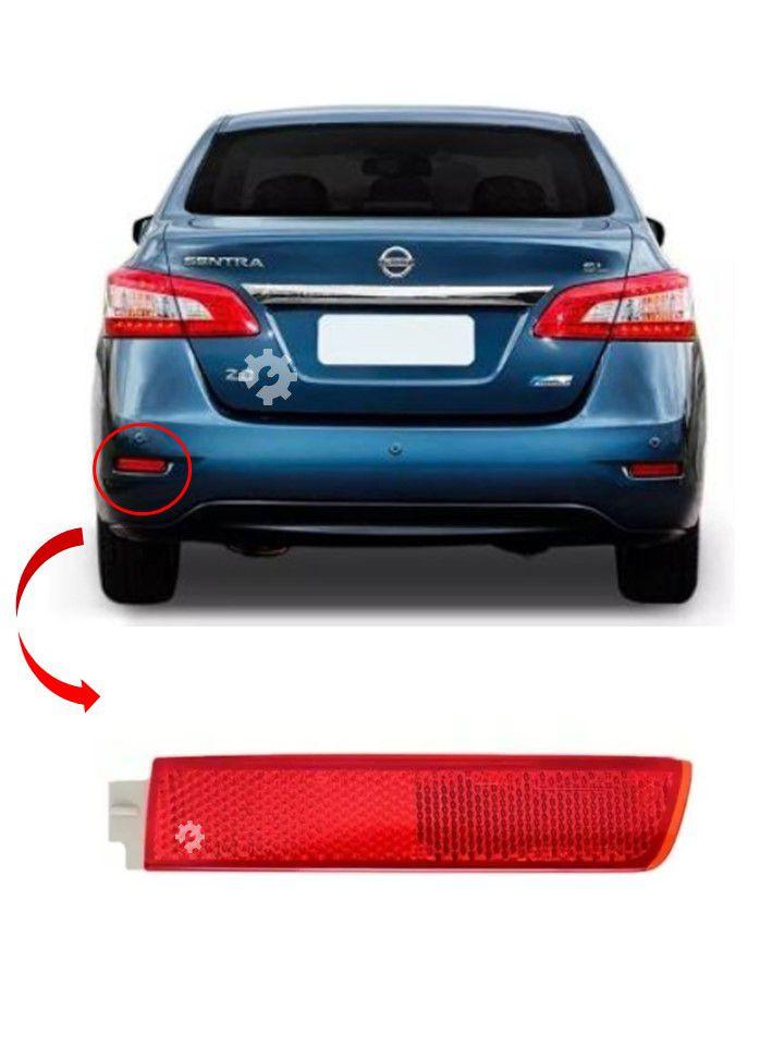 Refletor Traseiro Esquerdo Nissan Sentra 2012 2016 Original