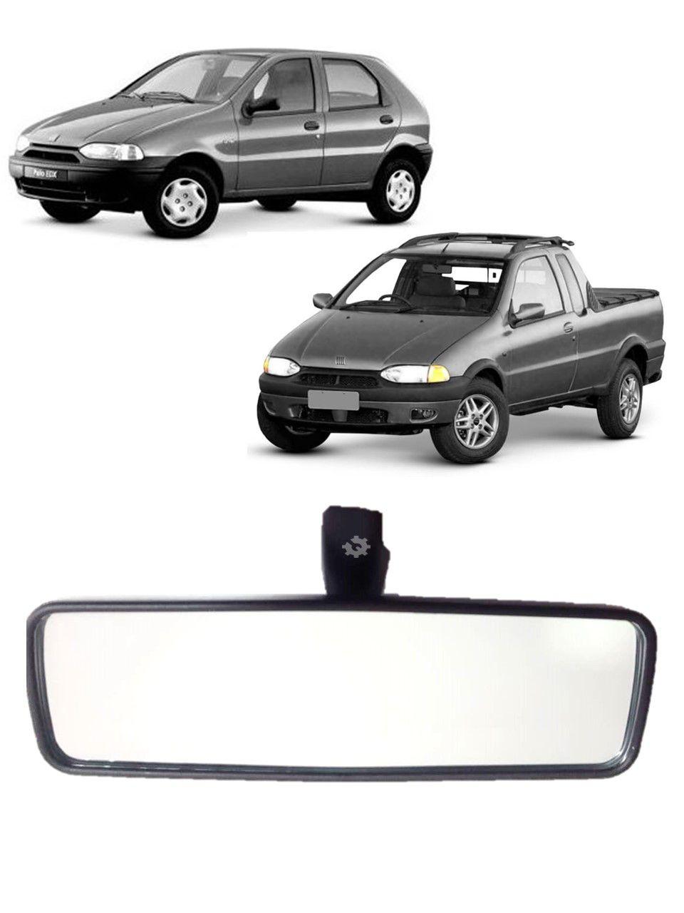Retrovisor Interno Fiat Palio Fiorino Strada Uno 1996 2000