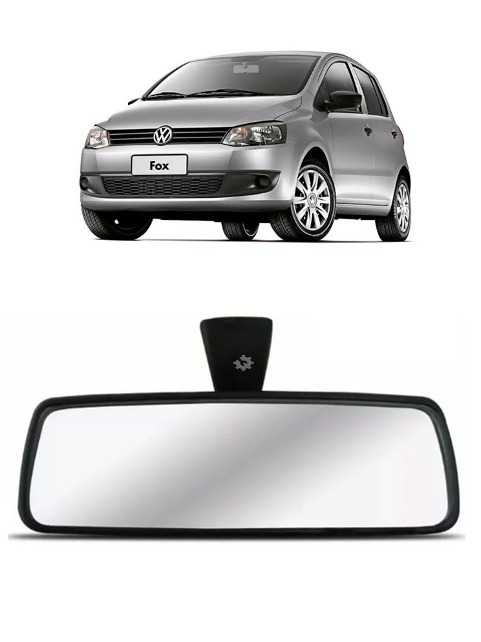 Retrovisor Interno Gol Fox Spacefox 2003 2005 2010 2014