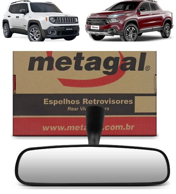 retrovisor interno Toro Compass Renegade 2015 2016 2019 2020