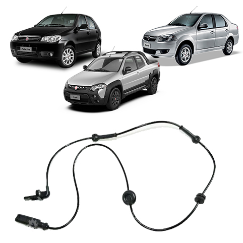 Sensor Abs Direito Fiat Palio Siena Strada Original 2004 2020