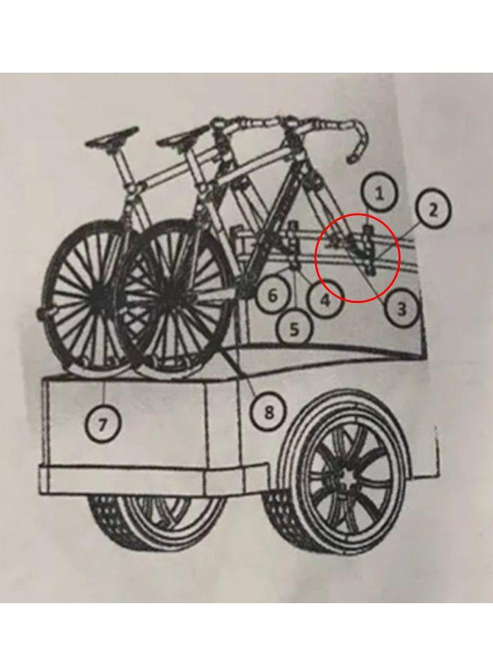 Suporte Bicicleta Renault Duster Oroch Original
