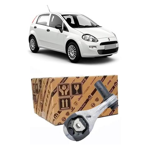 Suporte Coxim Inferior Cambio Fiat Punto 2008 2012 Original