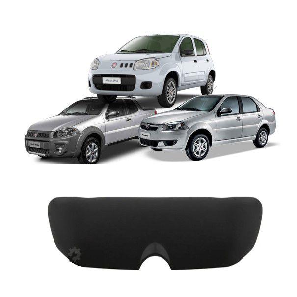 Suporte Porta Óculos Preto Fiat Palio Siena Strada Uno