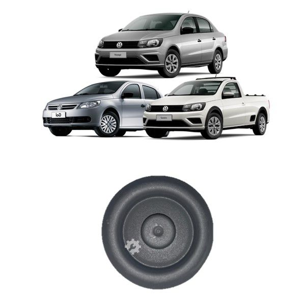Tampão Assoalho Volkswagen Gol Voyage Saveiro 2009 2017