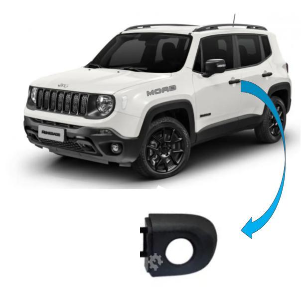 Tampão maçaneta dianteira esquerda jeep Renegade 2015 2020