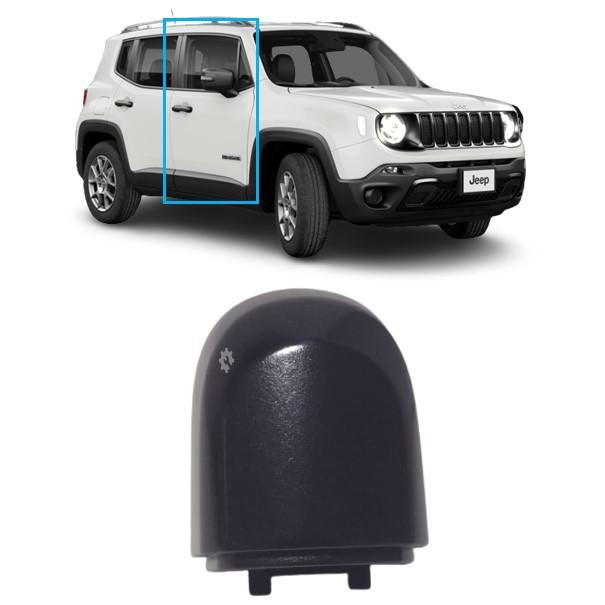 Tampão Porta Maçaneta Dianteira Jeep 2015 17 2020 Original