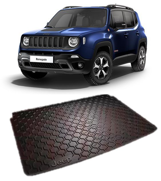Tapete Porta-malas Jeep Renegade 2016 18 2019 Original Mopar