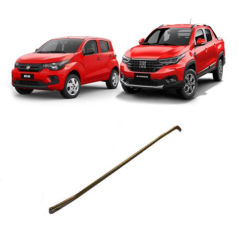 Tirante Esquerdo  Porta Fiat Mobi Nova Strada 2017 2021