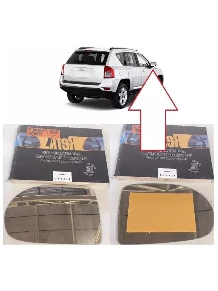 Vidro Espelho Direito Retrovisor Jeep Compass 2013 2014 2015