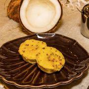 Bolinho proteico de coco