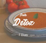 Dieta Detox ( sem lactose e sem glúten ) - 7 dias