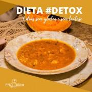 Dieta detox (sem lactose e sem glúten) - 7 dias